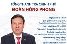 [Infographics] Tổng Thanh tra Chính phủ Đoàn Hồng Phong