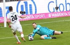Bundesliga: Bayern mất điểm trên sân nhà, Leipzig thắng hủy diệt