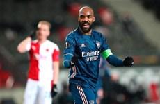 Thắng 'hủy diệt,' Arsenal đối đầu Villarreal ở bán kết Europa League