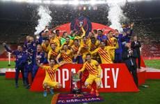 Barcelona giành Cúp Nhà Vua sau màn hủy diệt Athletic Bilbao