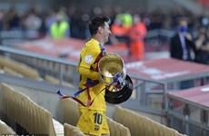 Video cận cảnh Barccelona thắng đậm 4-0 để lên ngôi Cúp Nhà Vua