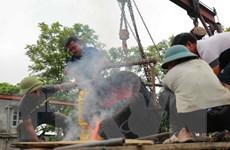 Thanh Hóa: Lễ chập lửa đúc trống đồng 'Hào khí non sông'