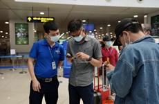 Siết chặt phòng, chống dịch COVID-19 qua đường hàng không