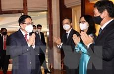 [Photo] Thủ tướng đến Indonesia dự Hội nghị các Nhà Lãnh đạo ASEAN