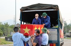 Quảng Bình: Truy điệu và an táng 16 hài cốt liệt sỹ hy sinh tại Lào