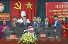 Ninh Bình tổ chức các hội nghị vận động bầu cử phù hợp chống dịch