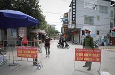 [Photo] Bắc Giang tăng cường chốt kiểm dịch tại huyện Việt Yên