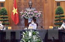 Thủ tướng Phạm Minh Chính yêu cầu dồn tổng lực để dập dịch COVID-19