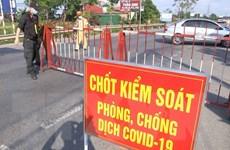 Bắc Ninh: Cách ly y tế đối với một điểm dân cư ở huyện Yên Phong