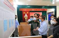 Ông Phan Văn Giang kiểm tra công tác chuẩn bị bầu cử tại Bắc Kạn