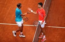 Novak Djokovic đối đầu Rafael Nadal ở chung kết Rome Masters