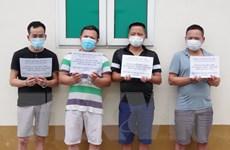 Biên phòng Lạng Sơn bắt nhóm đối tượng đón người nhập cảnh trái phép