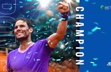 Rafael Nadal nói gì sau khi lập nên kỳ tích tại Rome Masters?