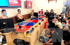 TP Hồ Chí Minh: Bắt giữ gần 40 đối tượng đánh bạc và tổ chức đánh bạc