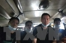 Phát hiện xe khách chở 5 người nước ngoài nhập cảnh trái phép