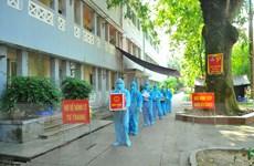 [Photo] Bắc Ninh tổ chức bầu cử sớm tại các khu cách ly tập trung