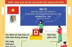 [Infographics] Phòng chống dịch COVID-19 tại các điểm tổ chức bầu cử