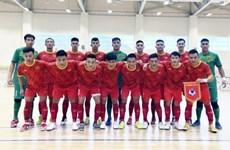 Xem trực tiếp tuyển futsal Việt Nam đấu Liban tranh vé dự World Cup