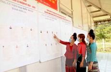 Tưng bừng ngày bầu cử tại vùng cao Sơn La, Điện Biên