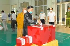 Tại 15 tỉnh thành, đến 9 giờ 30 đã có 34,61% số cử tri đi bỏ phiếu