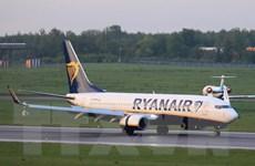 Belarus thông tin nội dung thư đe dọa đánh bom máy bay Ryanair