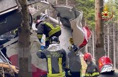 Italy: 3 người bị bắt giữ do nghi liên quan đến vụ rơi cáp treo