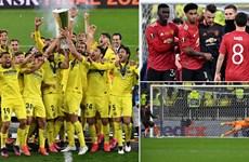 Cận cảnh Villarreal đánh bại M.U để lần đầu vô địch Europa League