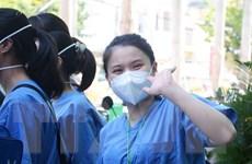 [Photo] Đoàn y, bác sỹ Đà Nẵng lên đường chi viện tỉnh Bắc Giang