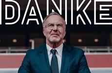 CEO Bayern AG Karl-Heinz Rummenigge từ giã sân khấu bóng đá