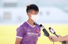 Phan Văn Đức: Nỗ lực hết mình để có cơ hội vào sân thi đấu