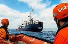 Italy yêu cầu tàu cứu hộ thuộc tổ chức Sea-Eye ngừng hoạt động