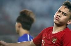 'Thần đồng' bóng đá Indonesia có nguy cơ lỡ trận gặp tuyển Việt Nam