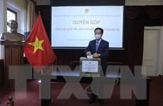 Người Việt tại LB Nga quyên góp ủng hộ Quỹ vaccine phòng COVID-19