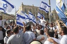Israel cho phép các nhóm cực hữu tổ chức tuần hành tại Đông Jerusalem
