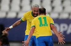 Neymar tiếp tục lập công giúp Brazil thắng hủy diệt tại Copa America