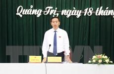 Ông Nguyễn Đăng Quang tái đắc cử là Chủ tịch HĐND tỉnh Quảng Trị