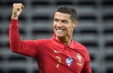 Cristiano Ronaldo dẫn đầu cuộc đua Vua phá lưới EURO 2020