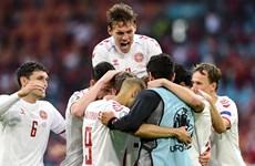 Thắng đậm Xứ Wales, Đan Mạch thẳng tiến tứ kết EURO 2020