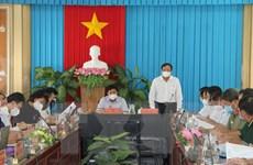 Bộ Y tế kiểm tra công tác phòng, chống dịch COVID-19 tại tỉnh Trà Vinh