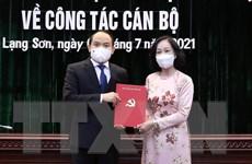 Ông Nguyễn Quốc Đoàn được chỉ định giữ chức Bí thư Tỉnh ủy Lạng Sơn