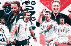 Lịch trực tiếp EURO 2020: Đan Mạch tạo nên địa chấn tại Wembley?