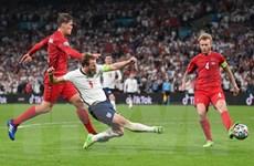 Trận Anh-Đan Mạch lập kỷ lục về số khán giả xem truyền hình trực tiếp
