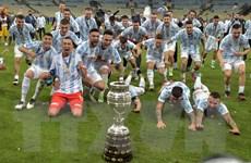 Hạ bệ Brazil, Argentina giành chức vô địch Copa Ameria 2021