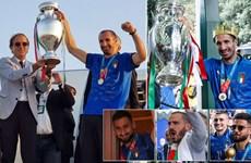 Italy rước cúp vô địch EURO 2020 về Rome sau chiến thắng kịch tính