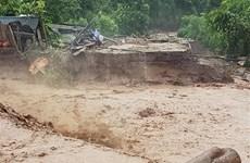Nguy cơ lũ quét tại Quảng Trị, Quảng Nam, Kon Tum và Gia Lai