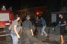 Quảng Ninh: Cháy tại Cụm KCN Hà Khánh, gây thiệt hại nặng về tài sản