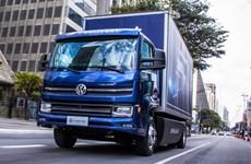 VW ra mắt xe tải thuần điện đầu tiên sản xuất hoàn toàn tại Brazil