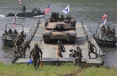 Mỹ và Hàn Quốc tham vấn chặt chẽ về kế hoạch tập trận chung
