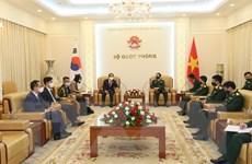 Tăng cường hợp tác quốc phòng Việt Nam-Hàn Quốc và Việt Nam-Ấn Độ