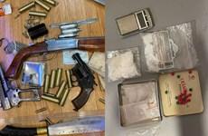 Hà Nội: Triệt phá ổ nhóm tàng trữ chất ma túy, thu giữ nhiều súng, đạn
